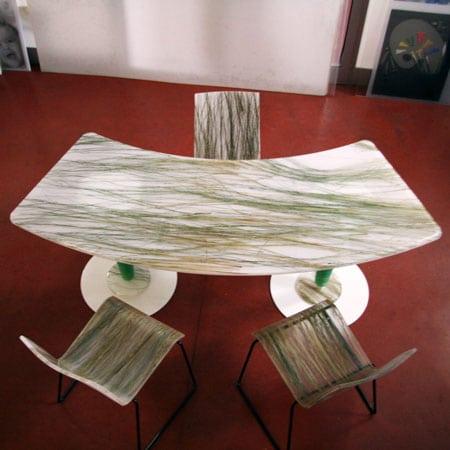 Tavolo da ufficio plexiglass