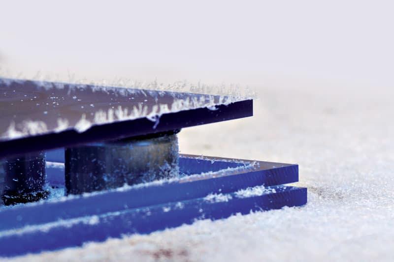 dettaglio prodotto in plexiglass