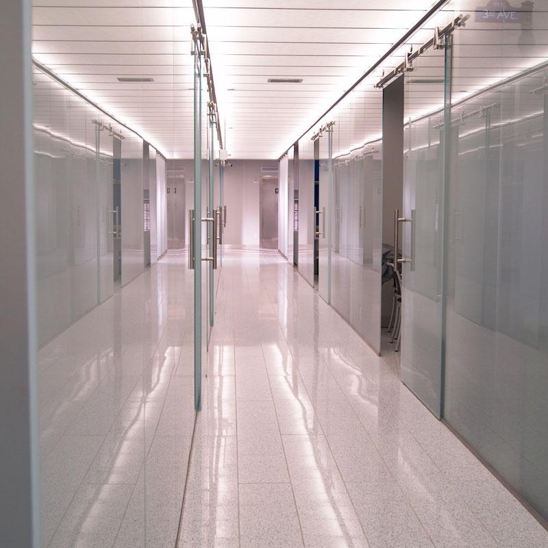 Ufficio divisori plexiglass