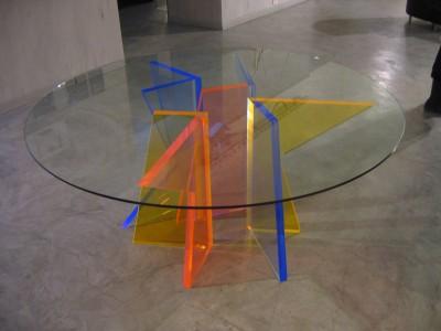 Tavolo con Sostegni Multicolore