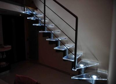 Scale in Plexiglass con Illuminazione
